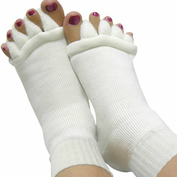 Massaging Toe Separator Socks