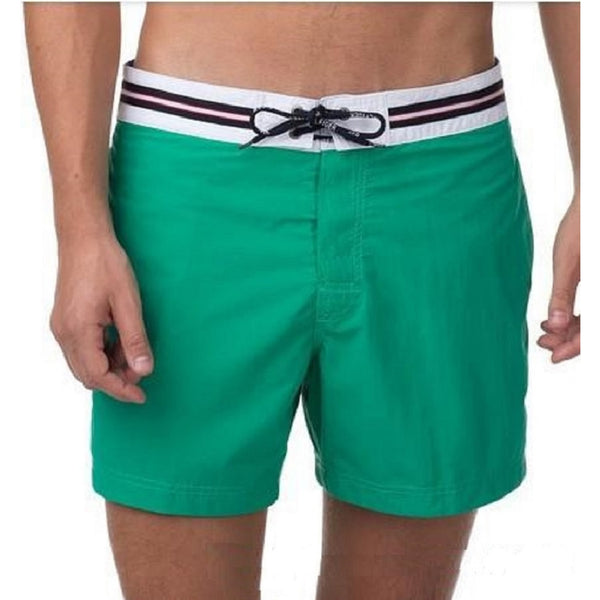 Men's Solid Swim Shorts