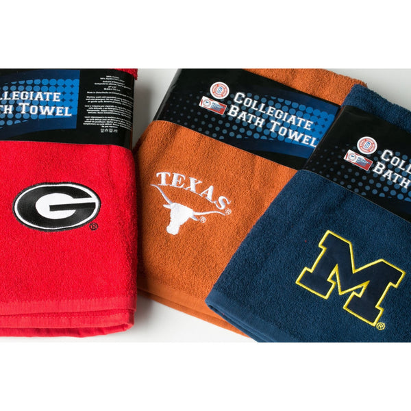 Officially Licensed Collegiate Bath Towels