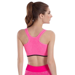 Quick Dry Zippered Sports Bra