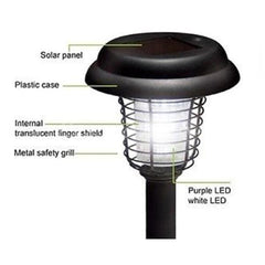 Solar Powered LED Bug Zapper
