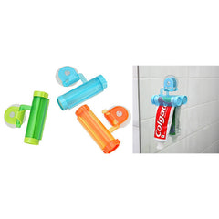 Suction Cup Toothpaste Squeezer - Set of 2