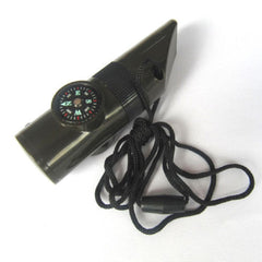 Survival Whistle - 7 in 1 Tool