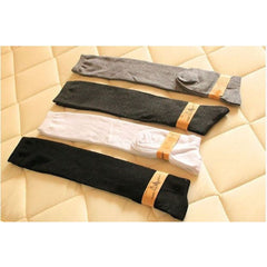Thigh High Winter Compression Socks - Black, White, Grey or Brown