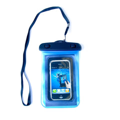 Waterproof Pouch for Mobile Phones - Blue, Pink, Clear, Black