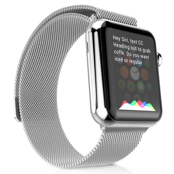 Woven Stainless Steel Band for Apple Watch - 38mm and 42mm Options