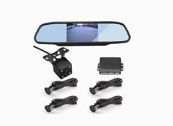 Rearview Mirror Car Dash Cam Recorder