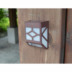 Solar Powered Wall Sconce Motion Light