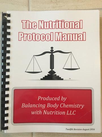 Nutritional Protocol Manual