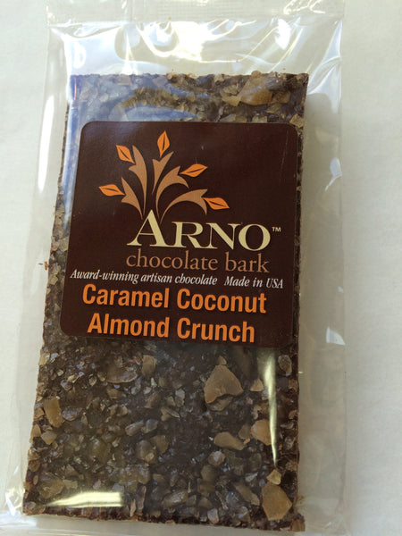 Caramel Coconut Almond Crunch Bark