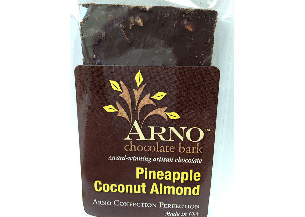 Pineapple Coconut Almond Bark