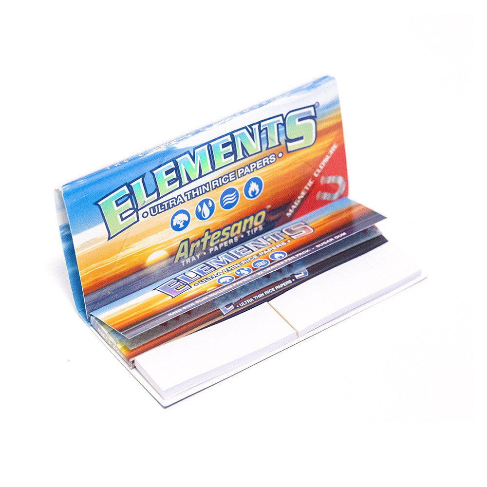 PAPERS - ELEMENTS ARTESANO ULTRA THIN RICE PAPER / TIP & MAGNETIC