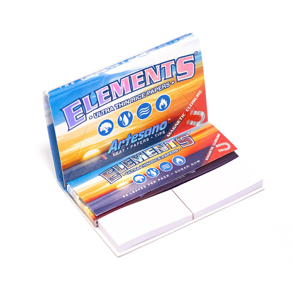 PAPERS - ELEMENTS ARTESANO 1 1/4 + TIPS