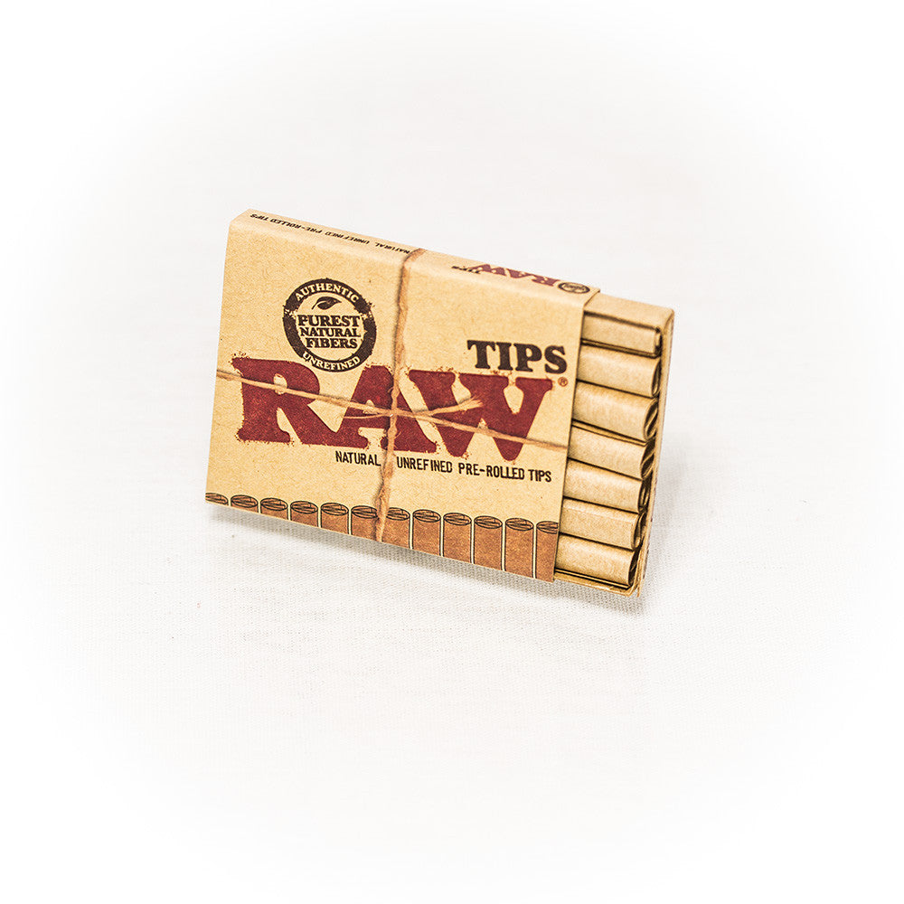 RAW - PREROLLED TIPS - 21/BOOKLET