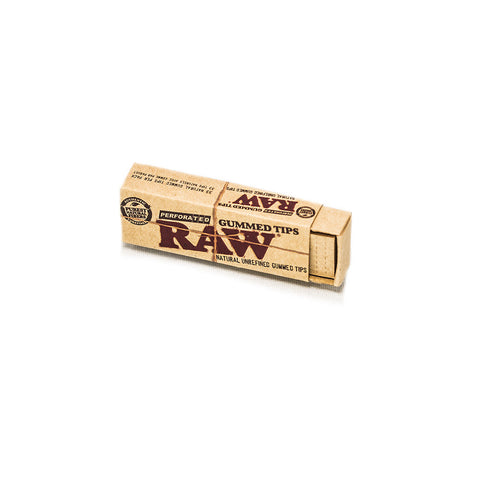 RAW - GUMMED TIPS - 33/BOOKLET