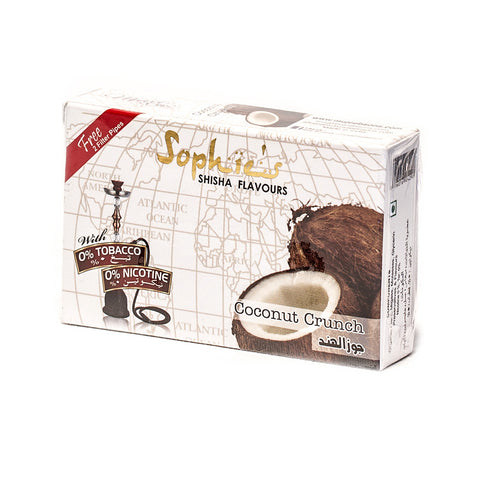 SOPHIES TOBACCO FREE MOLASSES COCONUT CRUNCH FLAVOUR
