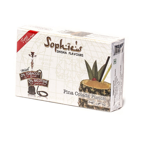 SOPHIES TOBACCO FREE MOLASSES PINA COLADA FLAVOUR