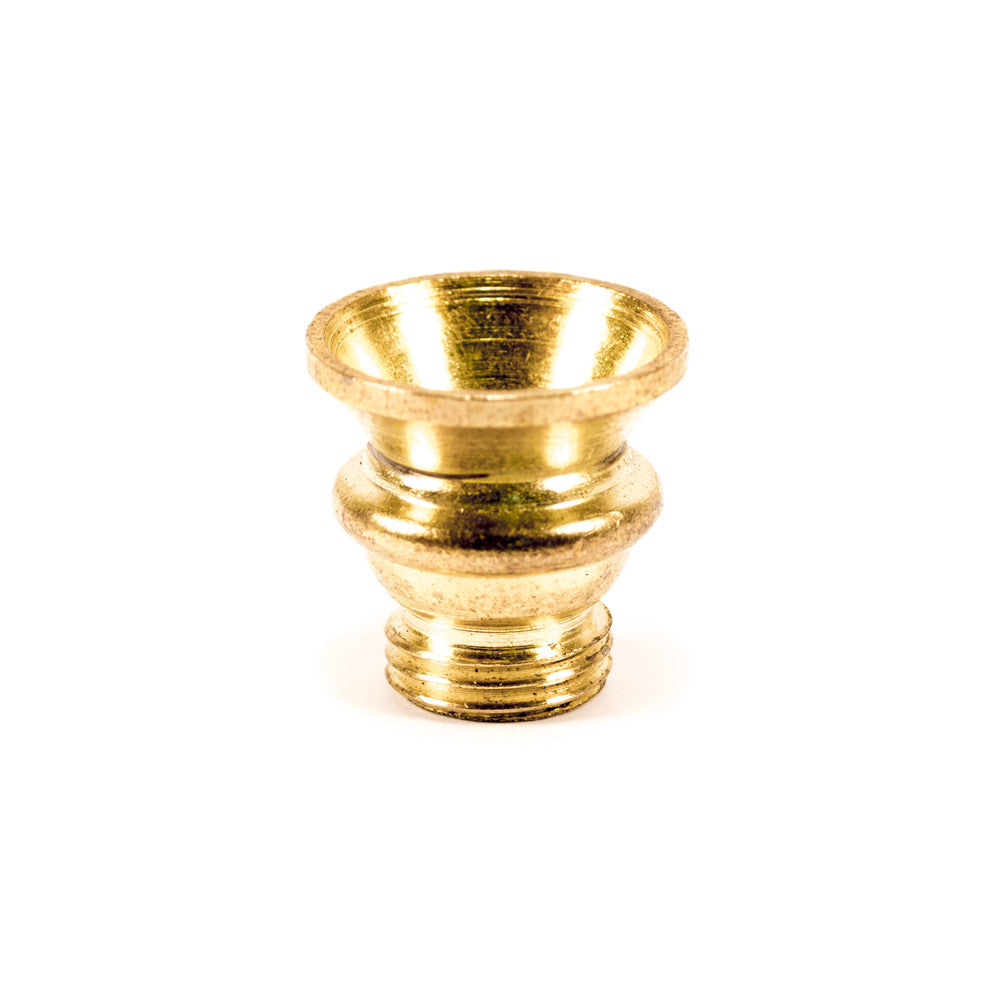 SMALL BRASS SCREW CONE