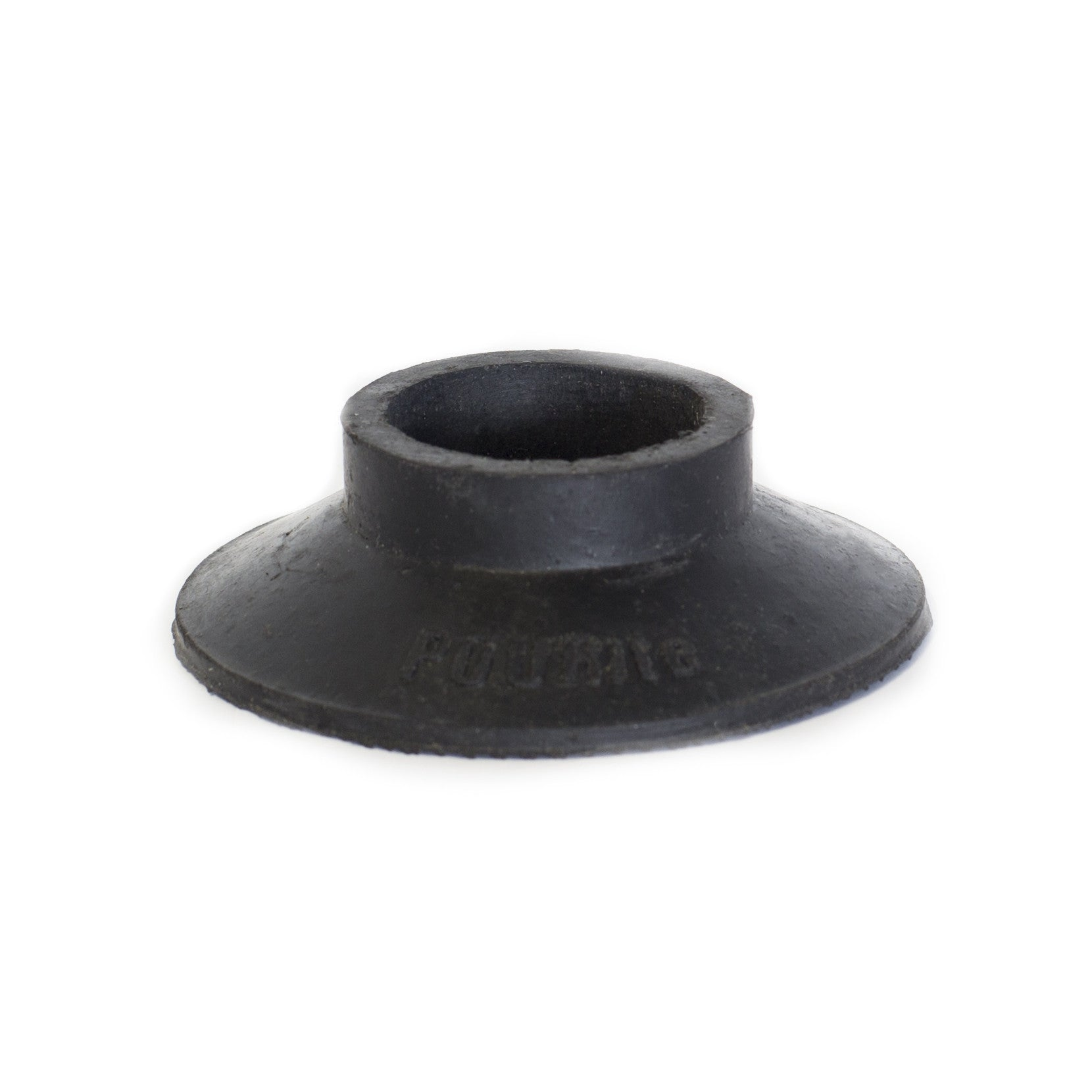 38mm ROUND WATERFALL BLACK RUBBER BASE