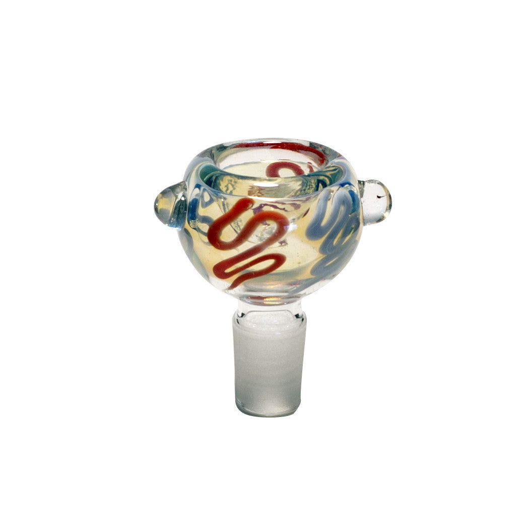 STANDARD GLASS CONE - HOLLOW MULTI-COLOURED 14mm