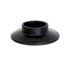 50mm ROUND WATERFALL BLACK RUBBER BASE -Flat