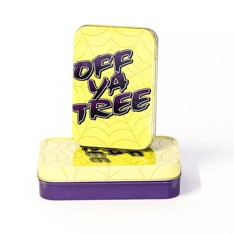 METAL TIN - OFF YA TREE SET OF 2