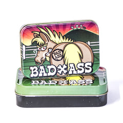 METAL TIN - BAD ASS SET OF 2