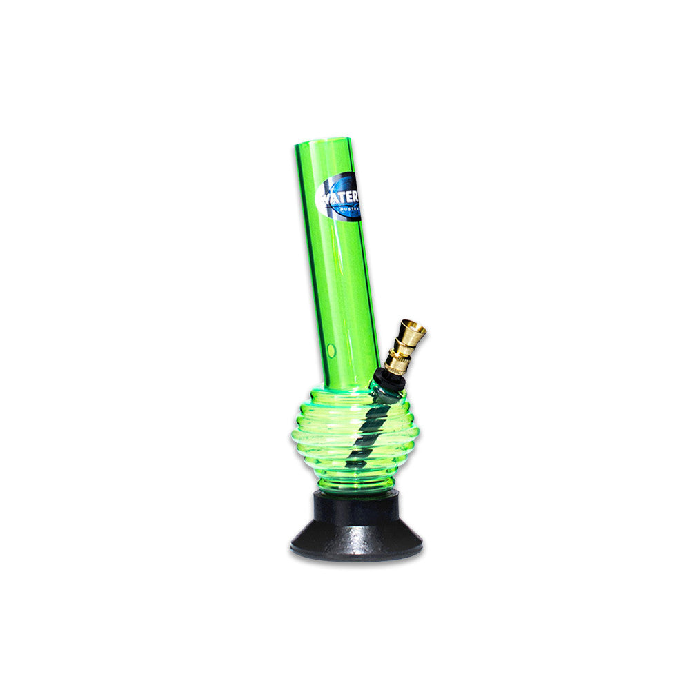 WATERFALL - ACRYLIC RIM GREEN BONG