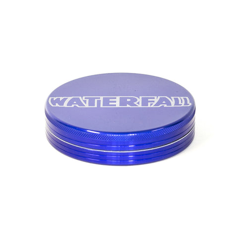 GRINDER - 90mm CNC 2 PART ALUMINIUM WITH LOGO & POUCH ASST. COLOURS