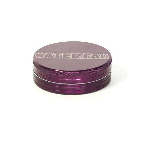 GRINDER - 75mm CNC 2 PART ALUMINIUM WITH LOGO & POUCH - ASST. COLOURS