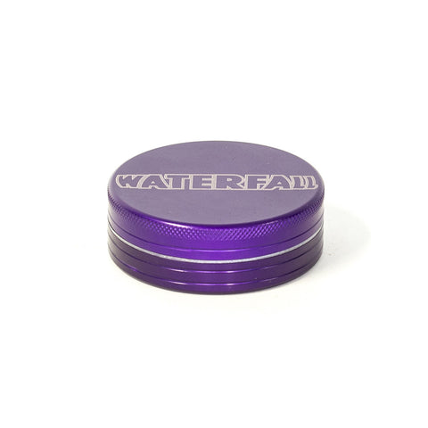 GRINDER - 63mm CNC 2 PART ALUMINIUM WITH LOGO & POUCH - ASST. COLOURS