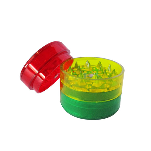 GRINDER - ACRYLIC 45mm 5 PART COLOURED MAGNETIC CENTRE