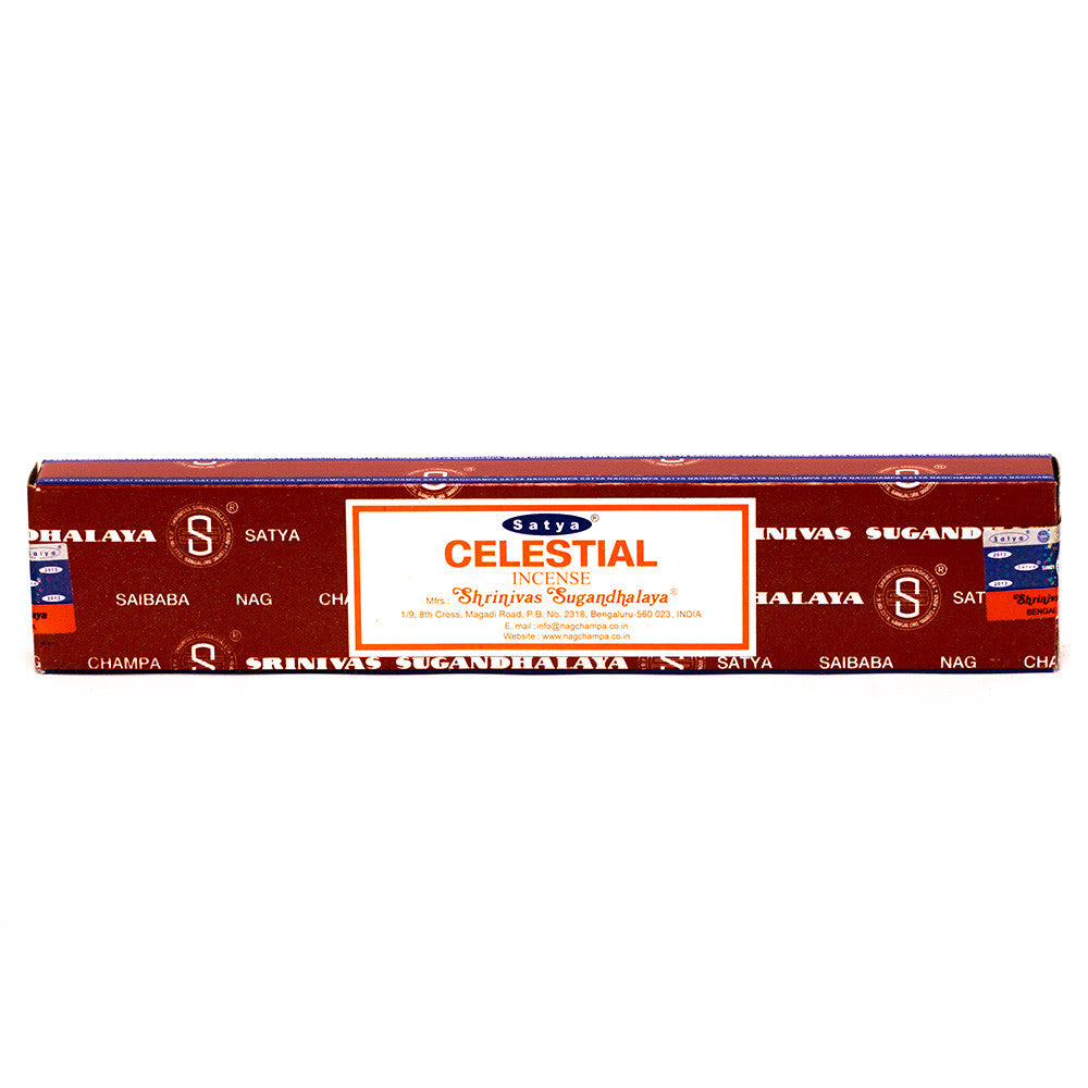 INCENSE - SATYA Nag Champa CELESTIAL STICKS 15g