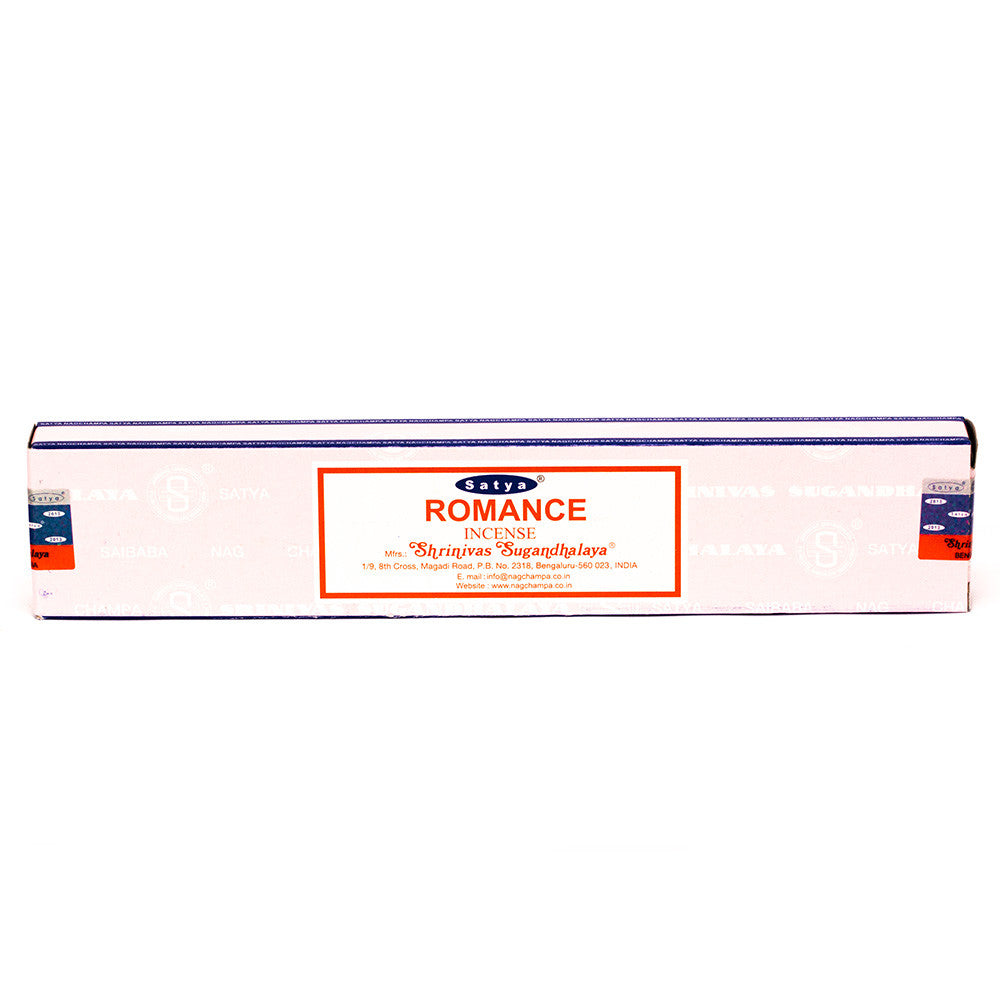 INCENSE - SATYA Nag Champa ROMANCE STICKS 15g