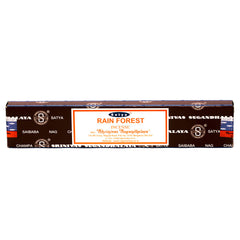 INCENSE - SATYA Nag Champa RAIN FOREST STICKS 15g