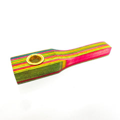 PIPE WOODEN MULTIPLE COLOUR