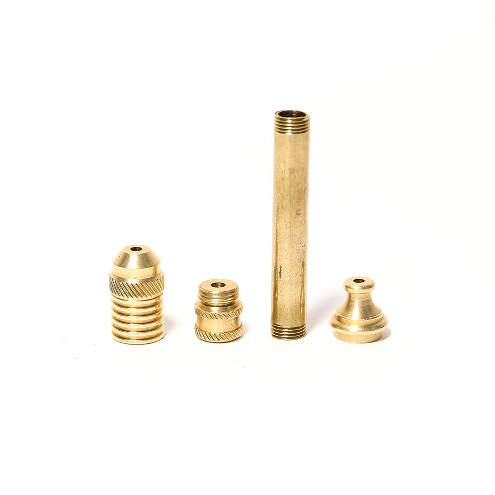 6cm BRASS SMOKELESS PIPE
