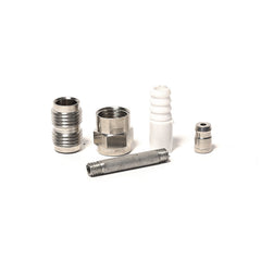 SPARK PLUG SMOKELESS - CHROME (SILVER)