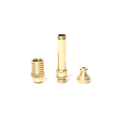 4cm BRASS SMOKELESS PIPE