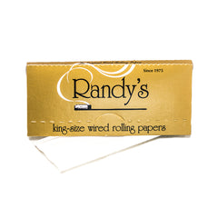 RANDY'S - WIRED ROLLING PAPERS KING SIZE (GOLD)