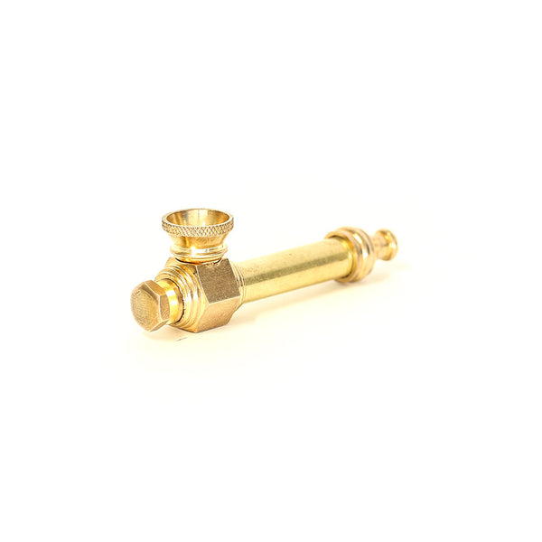 Brass spike pipe the bong shop