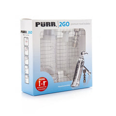PURR2GO - WATERPIPE POLYCARBONATE W/ PADDED CARRY CASE