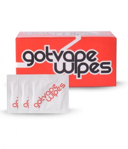 ACCESSORY-GOT VAPE DISINFECTANT WIPES 100 PACK