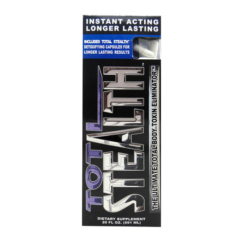 TOTAL STEALTH  - DETOX DRINK - 600mL =+ 5 CAPSULES