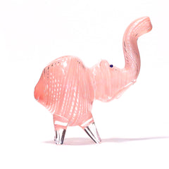 NELLY THE ELEPHANT GLASS PIPE (PINK)