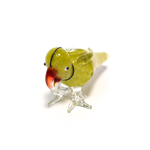 POLLON THE PARROT GLASS PIPE