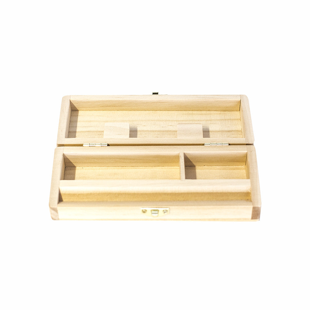 WOOD ROLLING STORAGE BOX 147 X 53MM