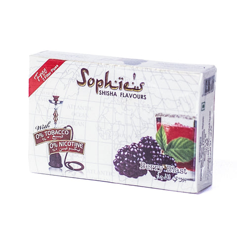 SOPHIES TOBACCO FREE MOLASSES  BERRY BLAST