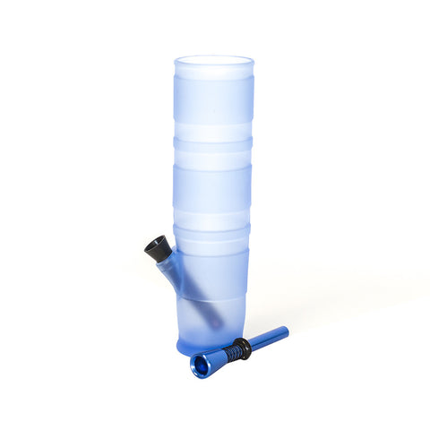 BONG - MCGYVER BLUE SILICONE COLLAPSABLE