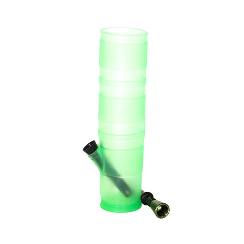 BONG - MCGYVER GREEN SILICONE COLLAPSABLE